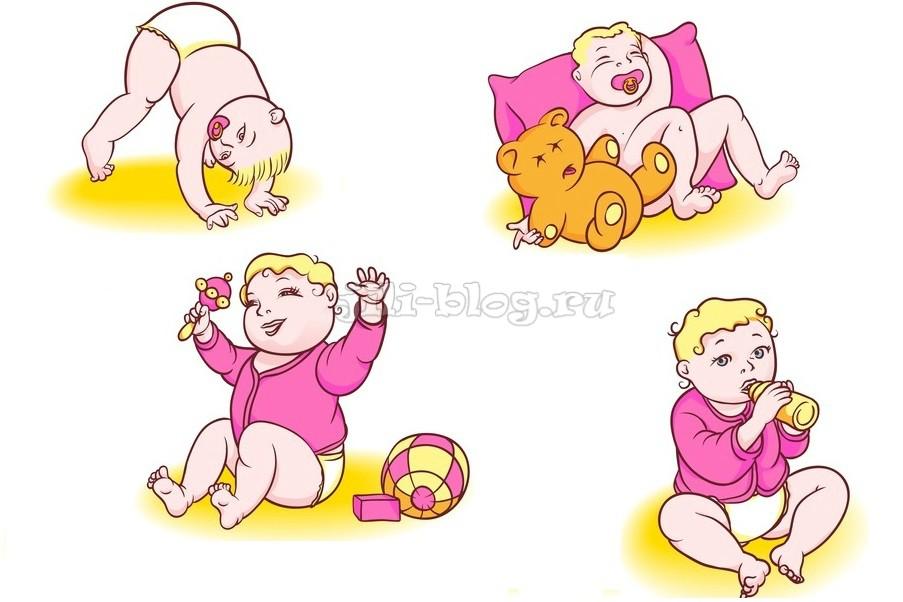 Потешки для малышей