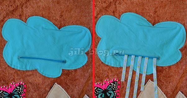 Детский развивающий коврик с замочками