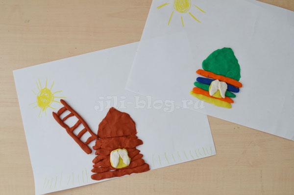 Лепка из пластилина для детей 2-3 лет