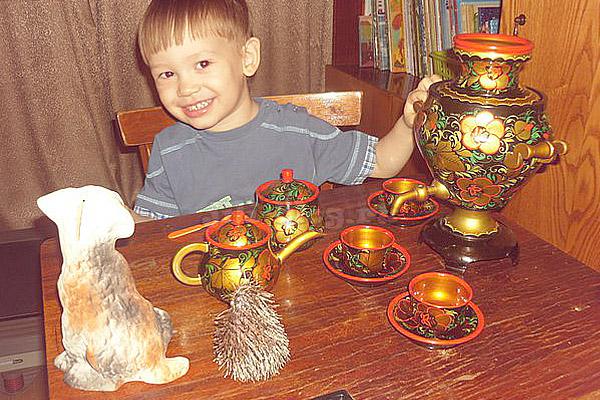 Играем в чаепитие