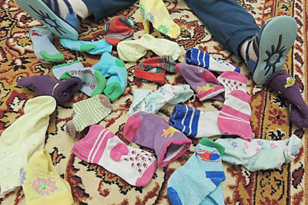 Находим одинаковые носки