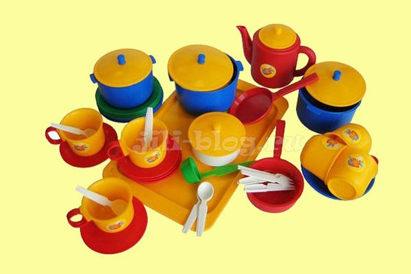 Детская посудка