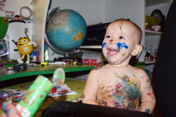 Рисование красками
