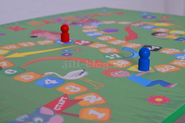 Настольная игра для малышей своими руками