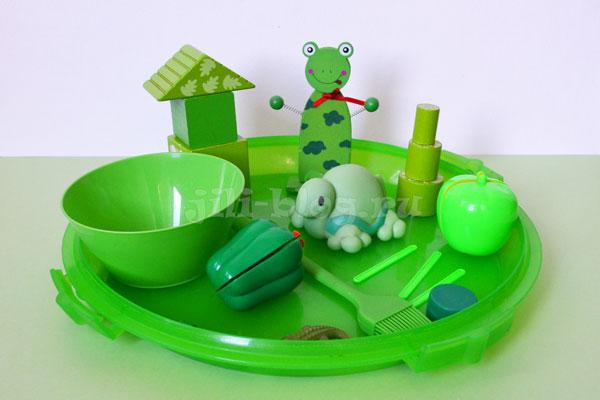 Цветной день для ребенка