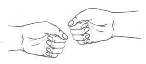Пальчиковая фигура Барабан
