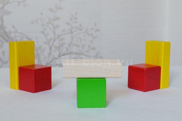 Конструирование из кубиков
