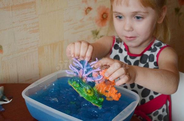 Сенсорная коробка Морские животные