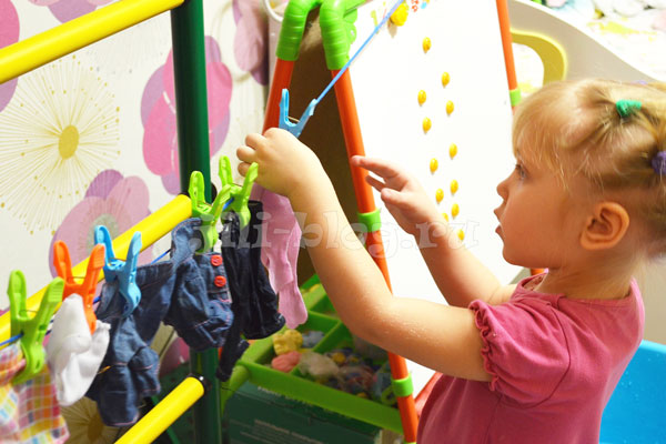 Развивающие игры для детей 2 - 3 лет