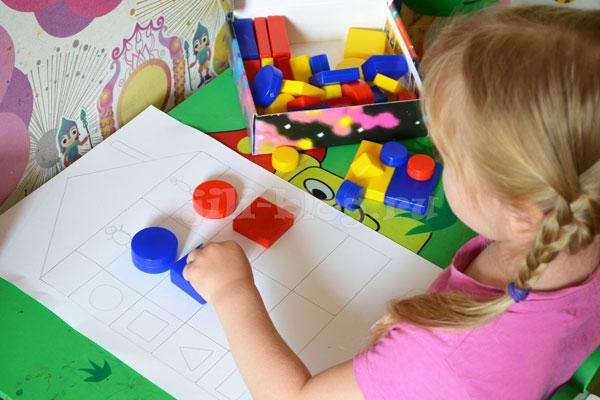 Логические игры для детей от 2 лет
