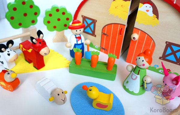 Игровой набор Ферма Linda Toys