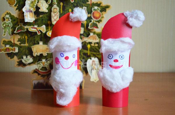 Поделка Дед Мороз для детей