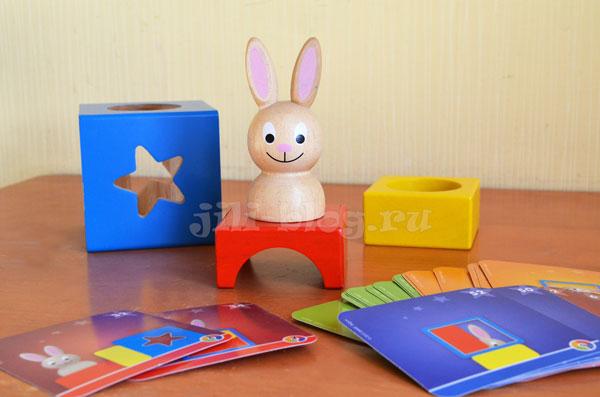 Логическая игра Bondibon Застенчивый кролик
