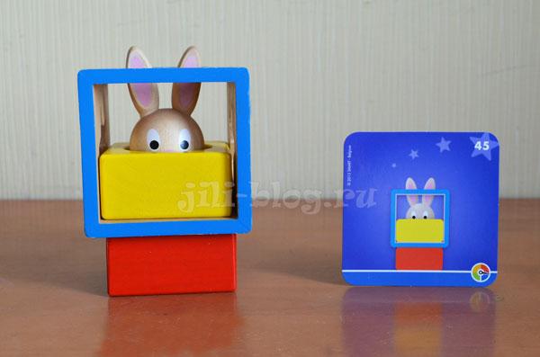 Застенчивый кролик Bondibon