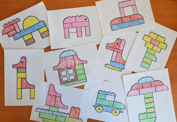 Схемы для конструктора Лего