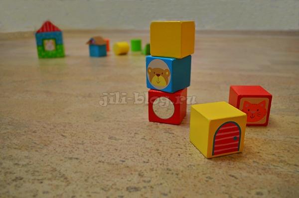 Башня из кубиков 9 месяцев