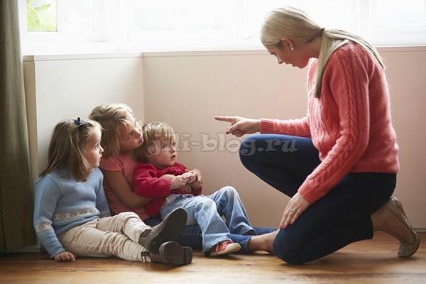 Как сказать ребенку нет