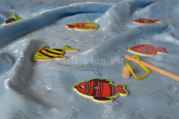 Магнитная рыбалка для малышей