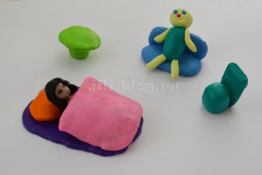 Мебель из пластилина