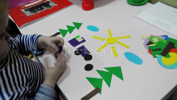 Игра с геометрическими фигурами