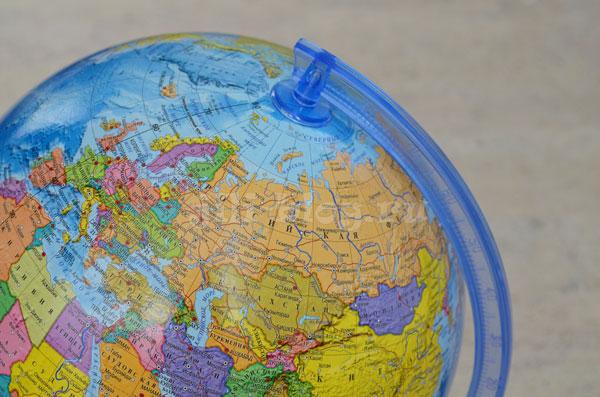 Ищем Арктику на глобусе