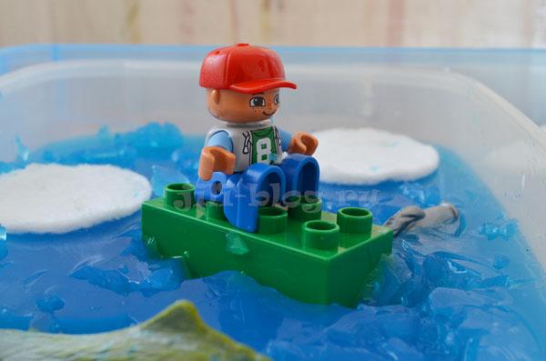Игра Ученый-полярник на ледоколе