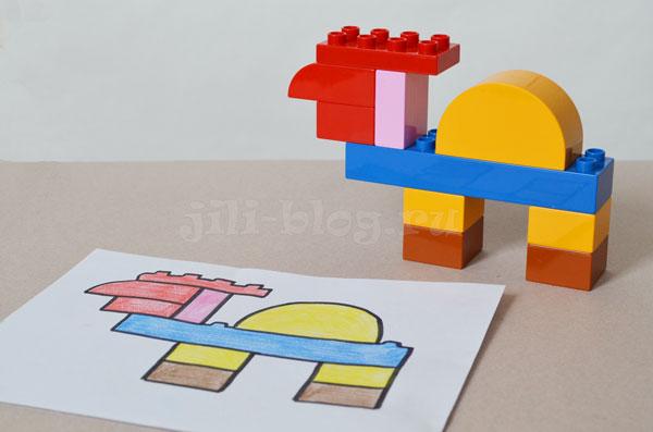 Верблюд из конструктора