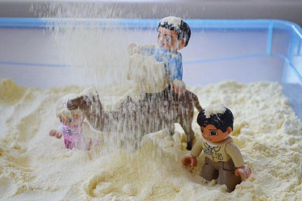 Играем в песчаную бурю