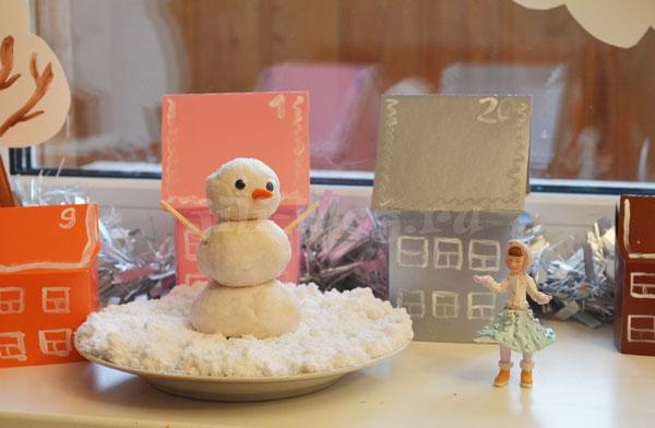 Снеговик из соды