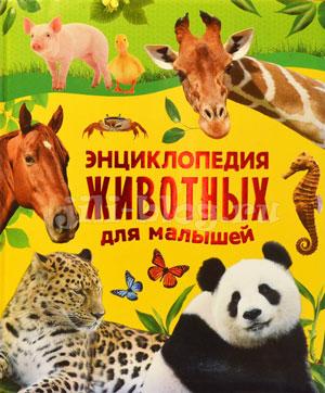 Энциклопедия животных для малышей Росмэн Фото