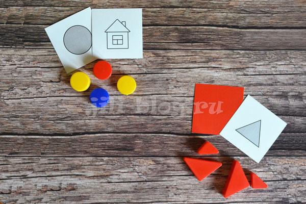 Сортировка блоков по логическим карточкам