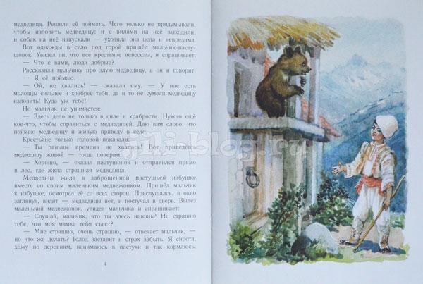 Мальчик и злая медведица Фото страниц