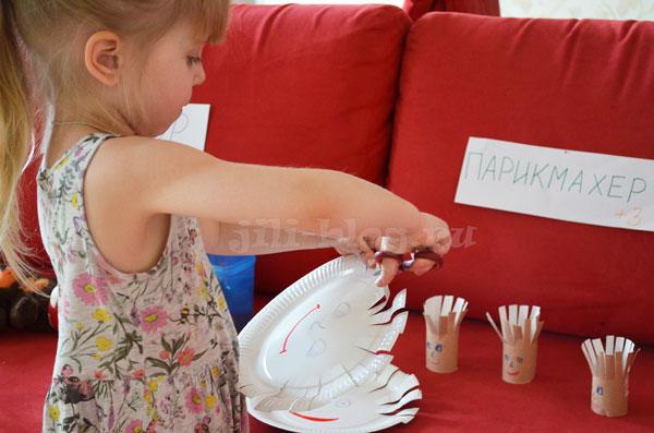 Игра Парикмахер для детей