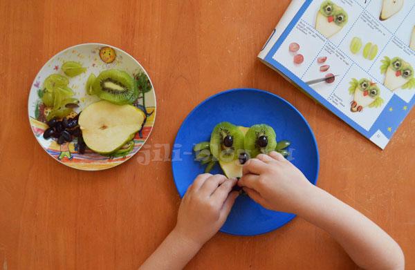 Готовим с детьми из фруктов