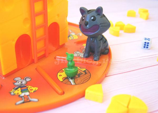 Настольная игра Кошки-мышки Сырная охота