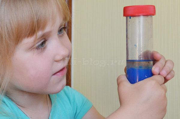 Смешивание масла и воды