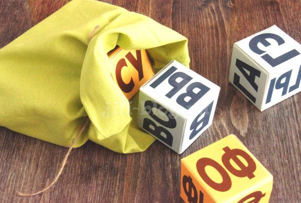 Игры с кубиками Зайцева