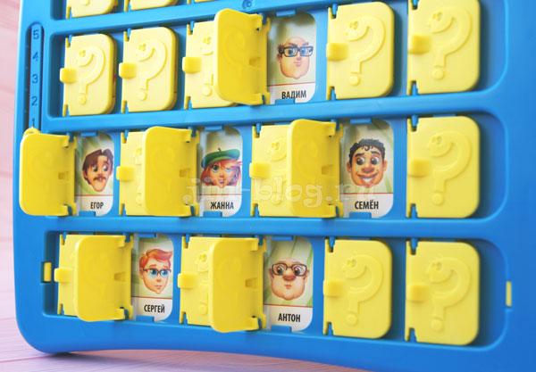 Настольная игра для детей 4-5 лет Угадай кто