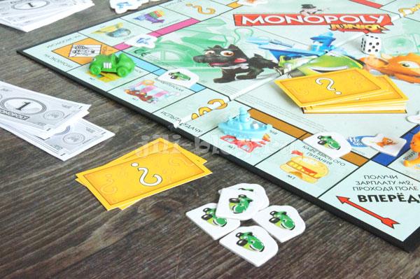 Настольная игра для детей Монополия