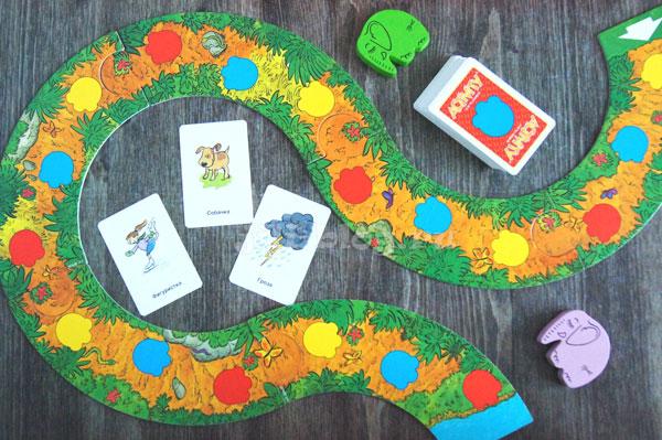 Настольные игры для детей 4 - 5 лет